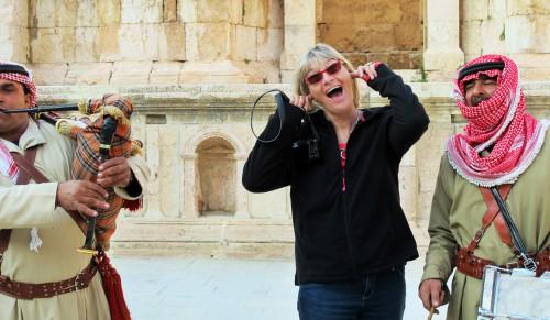 Mia in Jordan