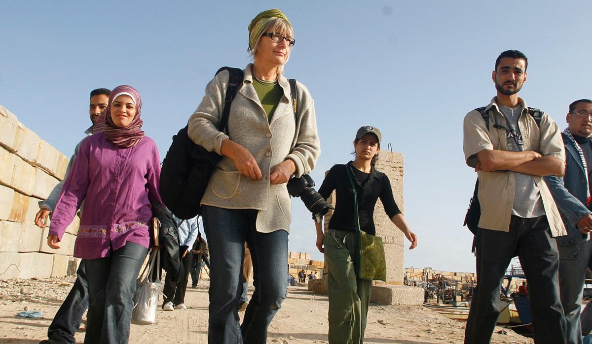 Mia in Gaza